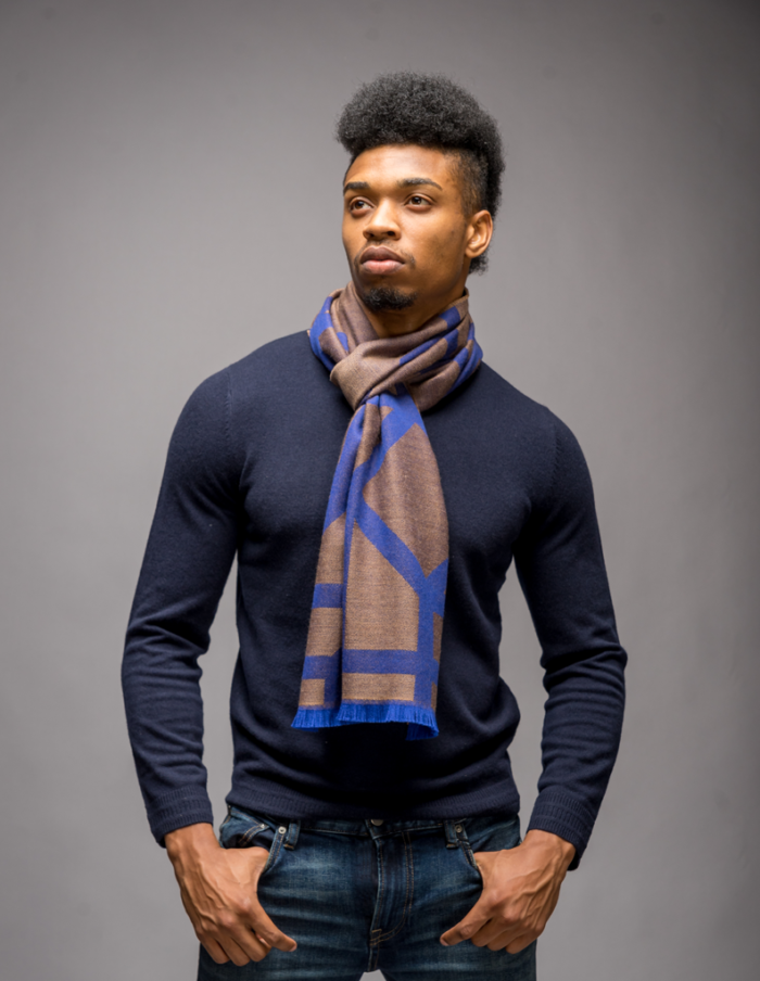 winter mens scarf
