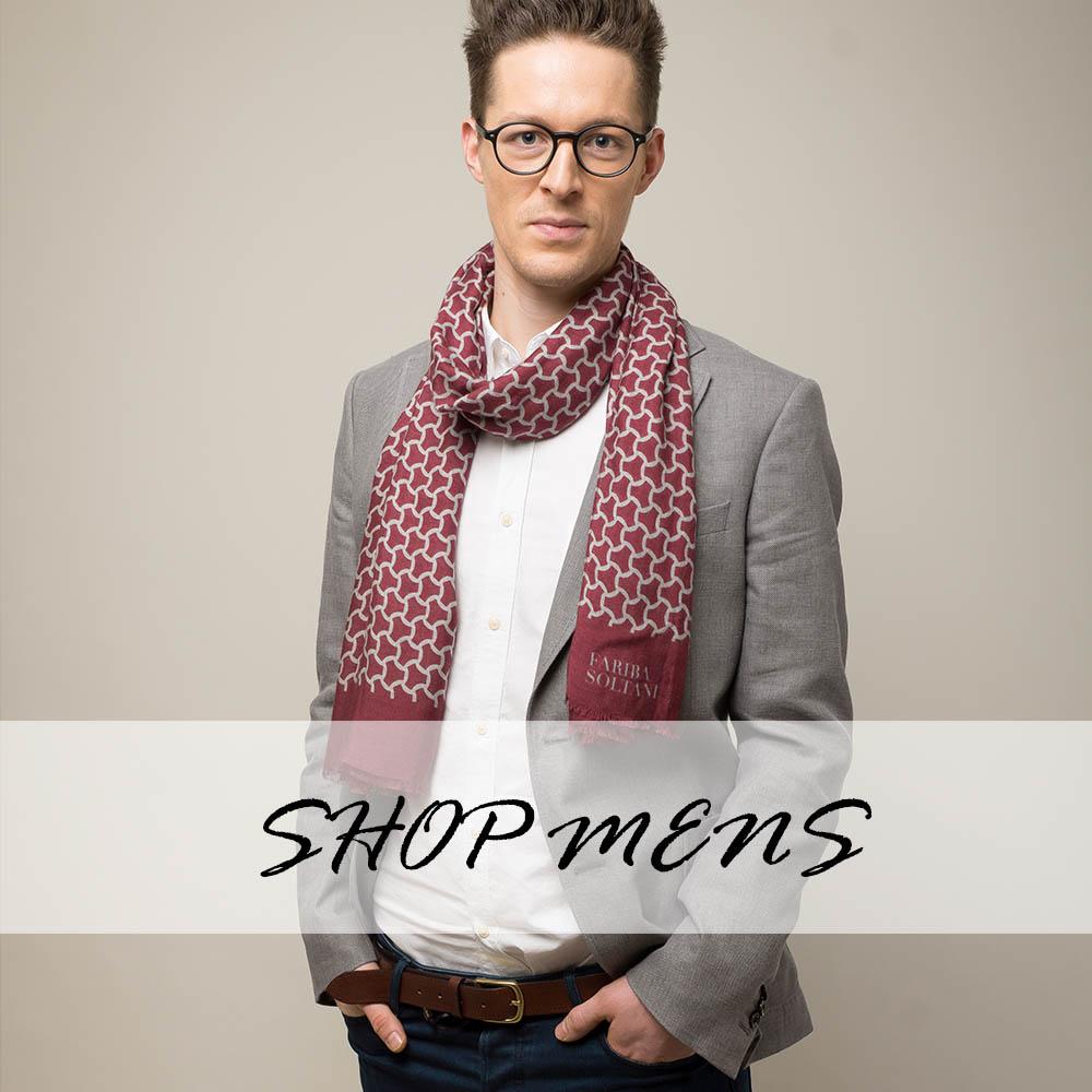 mens scarf
