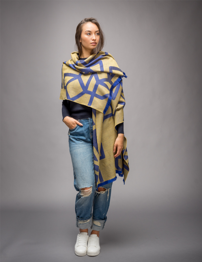 Womens yellow Scarf